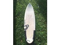 Resin8 6ft epoxy surfboard shortboard