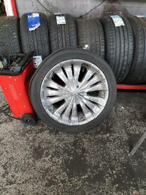 "5 STUD MULTI-FIT alloy wheels 19"""