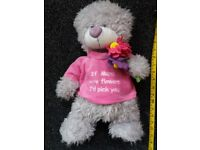 Cuddles Collection Teddy Bear