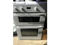 Built in Hot point double oven