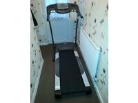 medium sized treadmill.