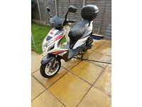 Sinnis harrier moped 125
