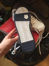 Kswiss size 7 trainers