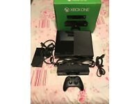 Microsoft Xbox One 500GB Black ConsoleWith Remote Control and Kinect