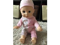 Baby Annabell learn to walk doll
