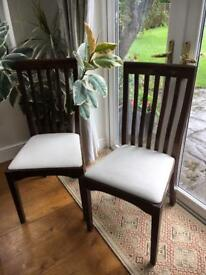 Laura Ashley Garrat Chestnut finish Dining Chairs