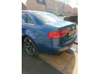Audi A4 3.2 petrol quattro 280bhp, perfect condition full service history 3 previous ovners