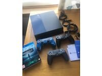 PS4 (500GB) bundle with controllers and game