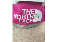 North Face holdall- pink/grey