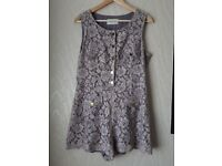 River Island playsuit size 14