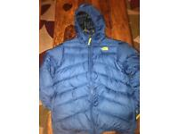 Boys reversible north face bubble coat