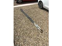 Two Metal Clothes Poles (or for scrap)