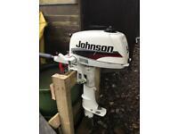 Johnson 5hp short shaft outboard motor