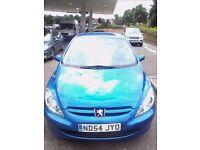 54 reg Peugeot 307 5 Door 1.4 MOT 9 Months