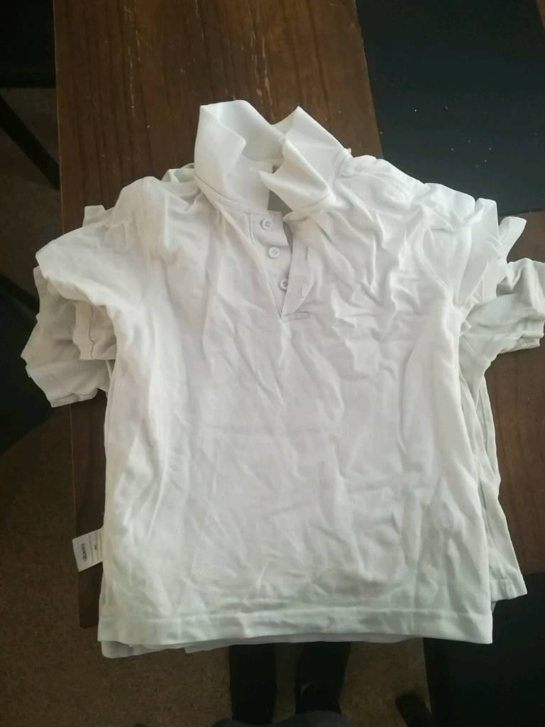 Boys school shirts size 5-6 free