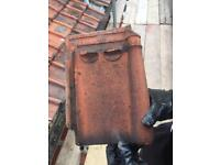 Reclaimed used roofing tiles clay