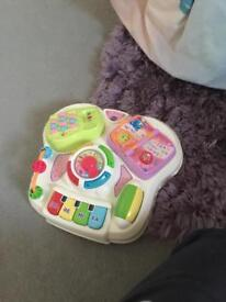 Vtech early learning stand up table