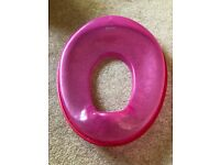 Pink Tippitoes Potty / Toilet training seat