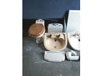 FREE 2 wash hand basins & taps, Bath, Toilet, radiator FREE