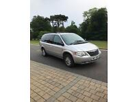 2006 Chrysler grand voyager exec 2.8crd 7 seater may px