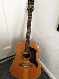 Eko ranger vintage acoustic guitar