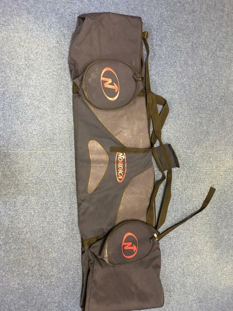 Ski bag to fit your skis in for travel