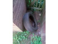 Fait 500 tyres wheel tyre used spare