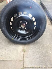 Brand new spare wheel for Peugeot 108 15inch