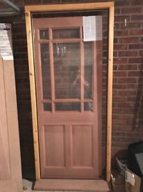 Howdens Bosworth Double Glazed External Doorset (Door and Frame)