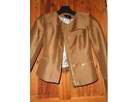 Ladies jacket - camel colour - H&M - size 36 -