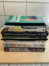 Collection of Sport and Exercise Science Textbooks