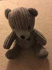 Grey Teddy Door Stop