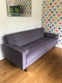 Dfs sofabed grey