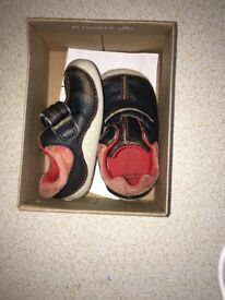 Baby Clarks first shoes