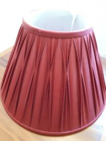 "Laura Ashley 12"" Lamp Shade Red"