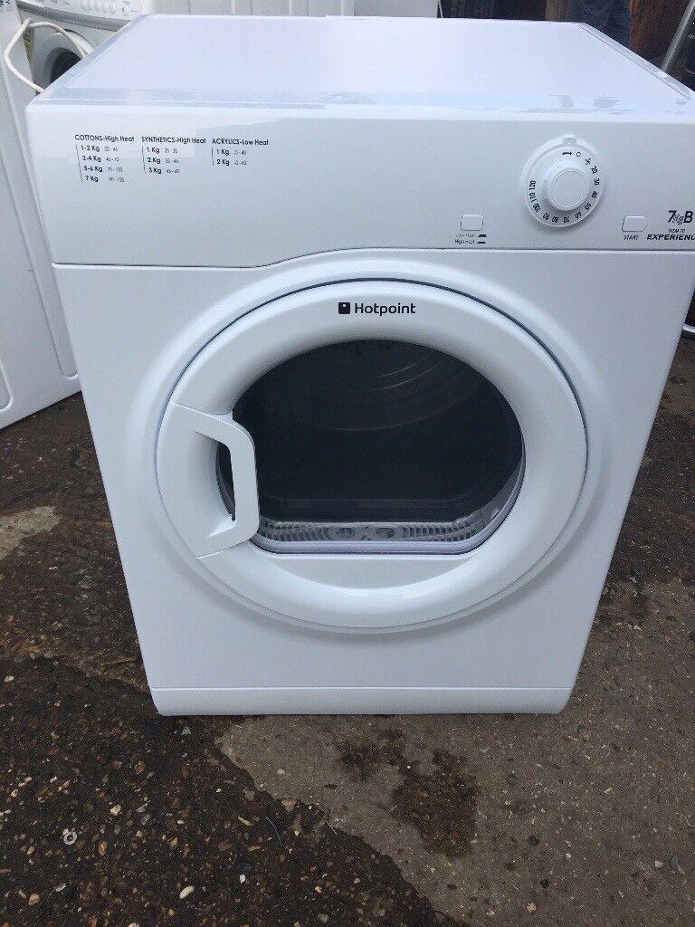 Hotpoint TVEM70 7kg Vented Tumble Dryer in White #4157
