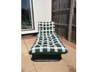 Sun Lounger only 3 months old patio garden
