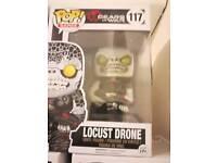 Pop vinyl locust drone