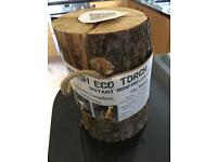 Swedish Eco Torch - Log Candle / Fire - Large - 1.5-2.5 Hours