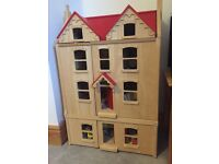 Fully Furnished 'Pintoy' Dolls House
