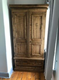 New Wooden Wardrobe - Cost £700 - for sale for £250 ono.