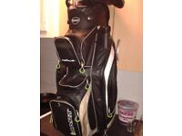 USED GOLF BAG WATERPROOF