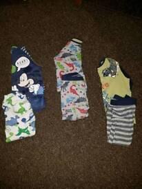 14 sets of pyjamas