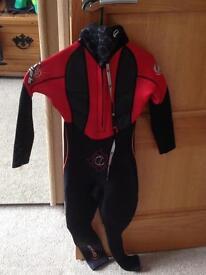 Size 2XS child's wetsuit