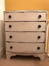 ANNIE SLOAN VINTAGE SHABBY CHIC CHEST OF DRAWERS