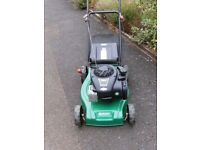 Qualcast 41cm Push Petrol Lawnmower Briggs & Stratton 125cc 450 series Eco Engine