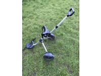 Child's golf trolley