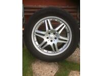 4 Mercedes Benz ML320 Alloy Wheels and Tyres