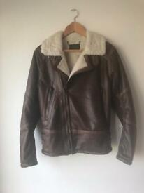 River island aviator jacket size small