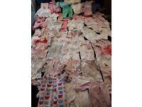 0-3 months clothes girls bundle